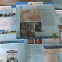 Foto: Umfangreiches Informationsmaterial belegt die historische Bedeutung unseres Kulturrraumes (Rennstieg InfoMaterial)