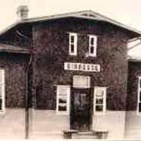 Fotos: Und es gab ihn doch: der Bahnhof in Sibbesse, auch wenn ein Fernsehsender anlässlich der 1000-Jahrfeier etwas anderes behauptete.